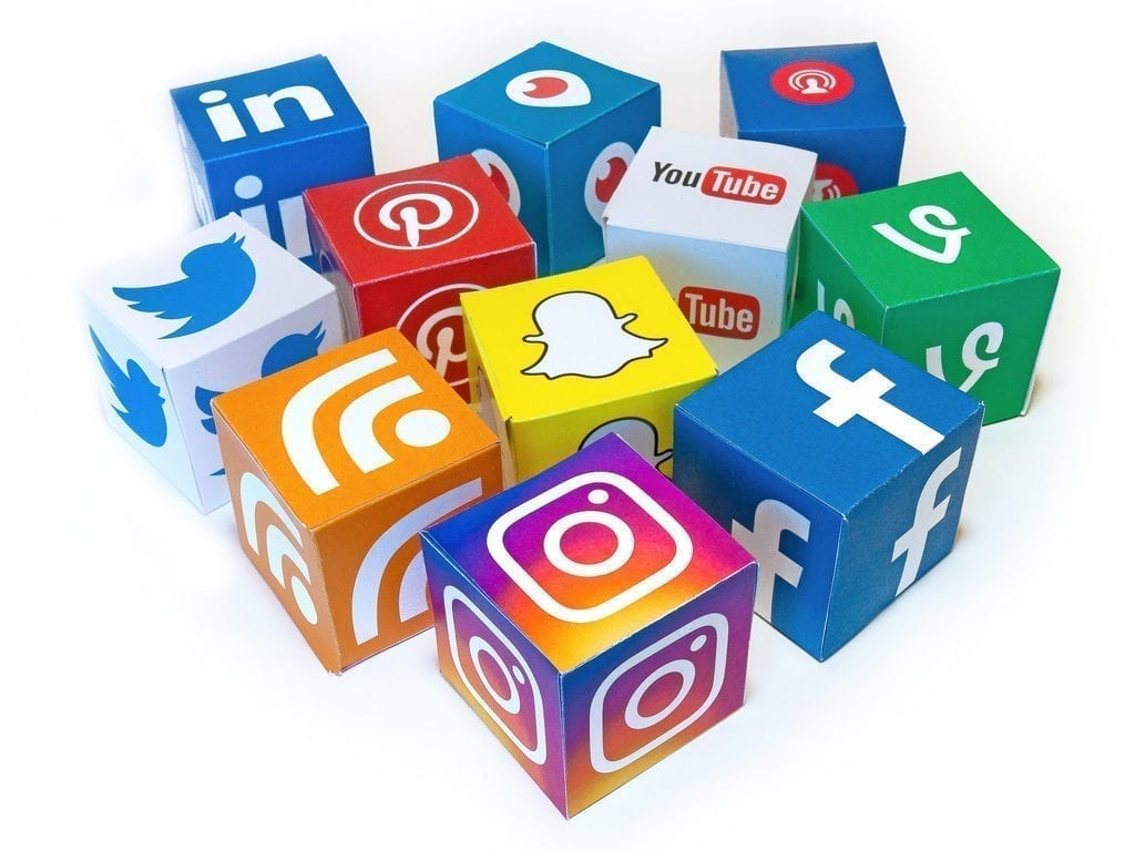social media icons for business 2019